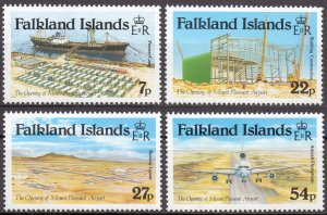 Falkland Islands. 1985. 423-26. transport. MNH.
