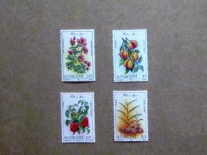 St. Vincent - 829-32, MNH Set. Herbs and Spices. SCV - $2.00