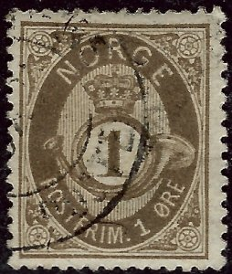 Norway #22 Used VF...Chance to buy a Bargain!