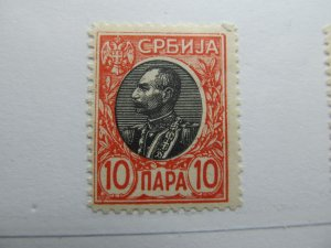 Serbien Serbia 1905-11 10p Fine MNH** A5P18F363