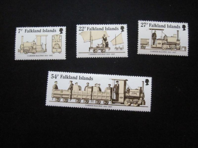 Falkland Islands #416-19 Mint Hinged- (X9) I Combine Shipping