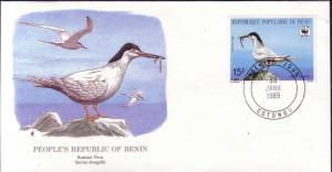 Benin FDC SC# 658 Roseate Tern L15