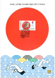 SLOVAKIA/2021 - (Collection Sheet) The XXXII Summer Olympic Games, Tokyo, MNH