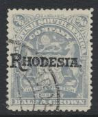 British South Africa Company opt Rhodesia SG108 SC# 94 Used / FU    see details