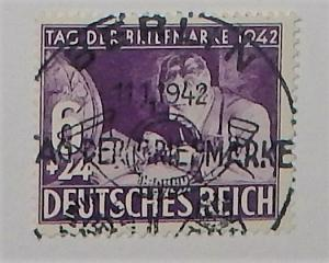 Germany B201. 1942 Stamp Day, used