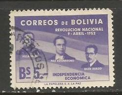 BOLIVIA 383 VFU K69