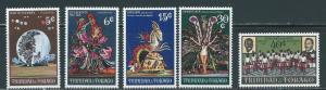 Trinidad & Tobago 176-80 1970 1970 Carnival set NH