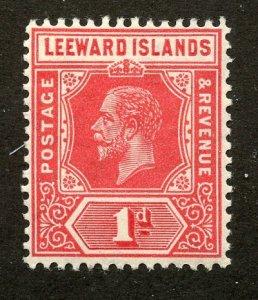 Leeward Islands, Scott #63, Mint, Never Hinged