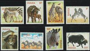 1984 Rwanda 1283-1290 Fauna 16,00 €