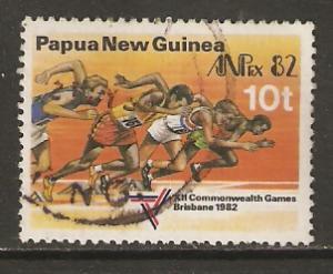 Papua New Guinea   #571  used  (1982)