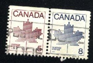 Canada 940,942   pair   u VF 1983 PD