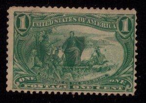US Sc 285 Mint,No Gum Trans-Mississippi Expo VF-XF (1898):