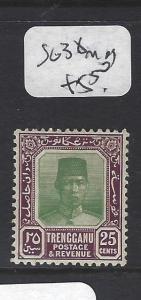 MALAYA TRENGGANU (P0211B)  SULTAN  25C  SG  38   MOG