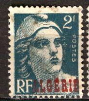 Algeria; 1946: Sc. # 202: O/Used Single Stamp