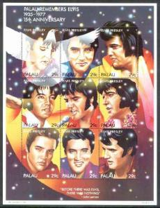 Palau 1992 15th Death Anniversary of Elvis Presley unmoun...