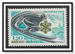 Andorra French #244 Winter Olympics MNH