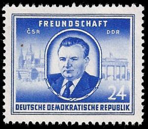 Germany DDR 1952 Sc 99 MLH