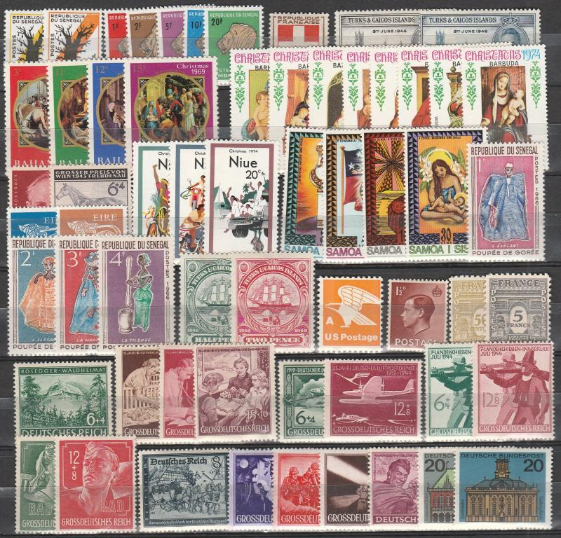 Worldwide Lot-  Mint Never Hinged (A4474)