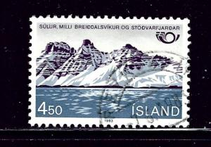 Iceland 571 Used 1983 issue
