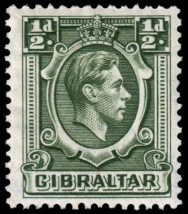 Gibraltar - Scott 107 - Mint-Hinged - Gum Damage