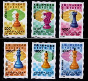 United Viet Nam Scott 2296-2301 Unused Imperforate set