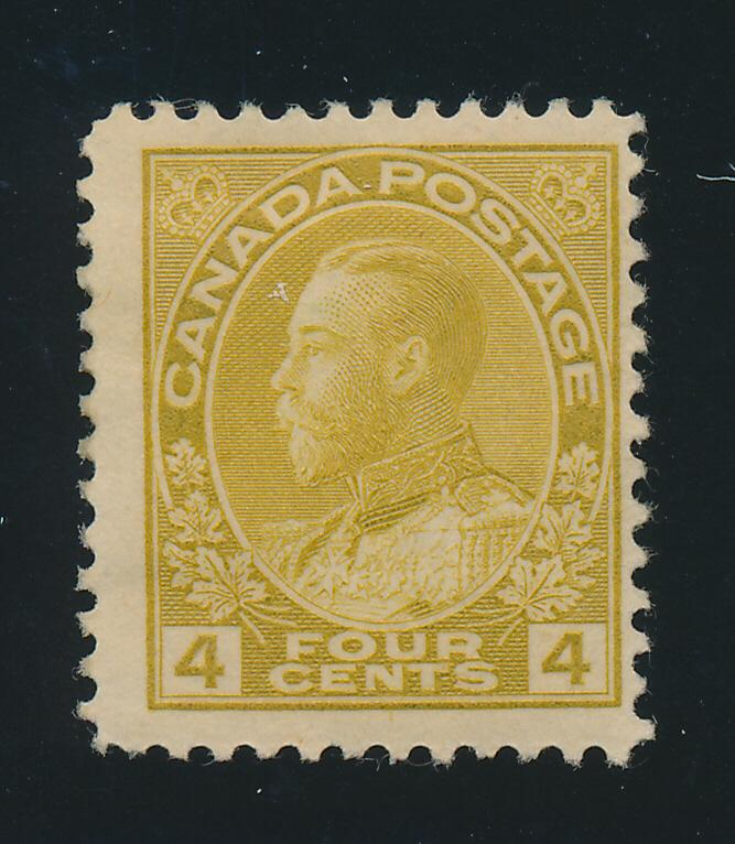 Canada Stamp Scott #110, Mint Hinged, Remnant - Free U.S. Shipping, Free Worl...