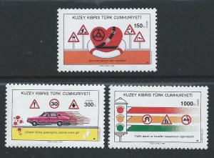 Turkish Rep. of Northern Cyprus #284-6 NH Traffic Safety