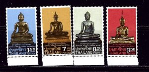 Thailand 1065-68 MNH 1984 Seated Buddhas