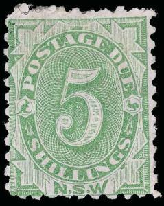 Australia / New South Wales Scott J8 Gibbons D8 Mint Stamp