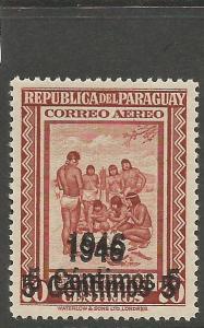 Paraguay SC C157 Double Surcharge MNH (5csx)