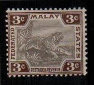 Malaya Scott 27a Mint NH