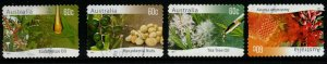 AUSTRALIA SG3600/3 2011 NATIVE PLANTS SELF ADHESIVE FINE USED