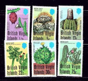 Virgin Is 350-55 MNH 1979 Cactus