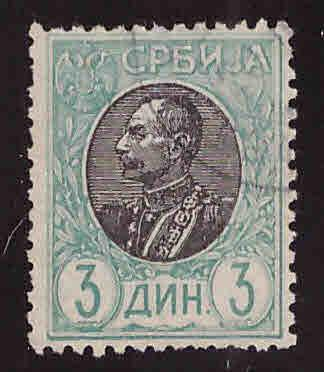 Serbia Scott 96 Used stamp