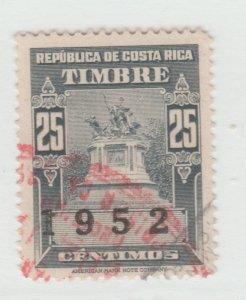 Costa Rica revenue fiscal stamp 9-13-11 TNX