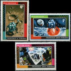 TRINIDAD & TOBACO 1969 - Scott# 166-8 Space Set of 3 NH