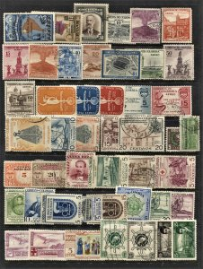 STAMP STATION PERTH Colombia #47 Mint / Used Selection - Unchecked
