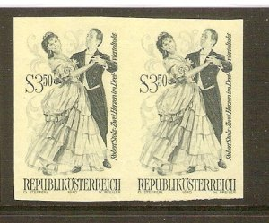 Austria 1970 operettas 3.50 S printer`s proof - phase print