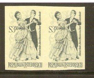 Austria 1970 operettas 3.50 S printer`s proof - phase print