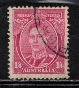 AUSTRALIA Scott # 176 Used - KGVI Definitive