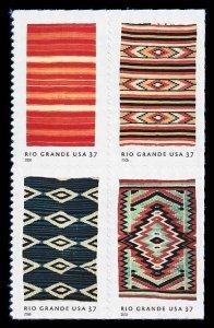 PCBstamps     US #3926/3929a Bk Block $1.48(4x37c)Rio Grande Blankets, MNH, (3)