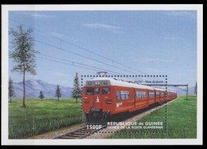 1998 Guinea 2187/B563 Locomotives 8,00 €