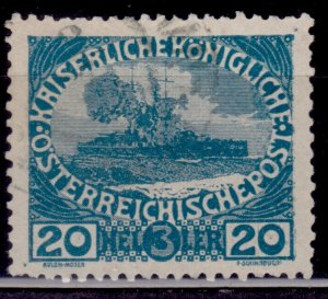 Austria, 1915, War Charity Funds, 20h, used