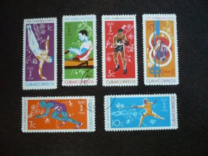 Stamps - Cuba - Scott# 852-857 - Used Set of 6 Stamps