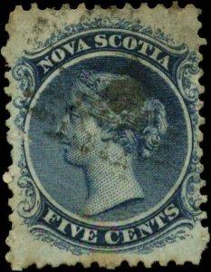 Canada, Nova Scotia  Scott #10 SG #13 Used