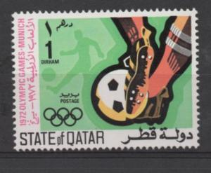 Qutar   Scott#  303   unused MNH