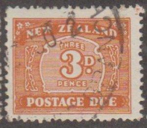 New Zealand Scott #J29 Stamp - Used Single