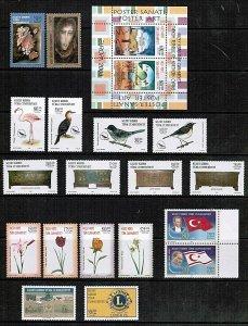 2003 UNMOUNTED MINT YEARLY  SET TURKISH CYPRUS