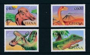 [105731] Ghana 1999 Prehistoric animals dinosaurs  MNH
