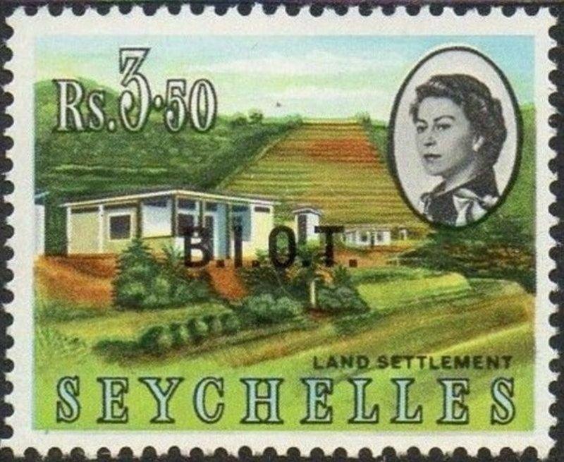 British Indian Ocean Territory 1968 3r.50 Land Settlement MNH